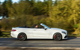 Mercedes-AMG C 63 Cabriolet side profile