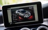 Mercedes-AMG C 63 infotainment screen