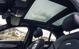 Mercedes-AMG C 63 sunroofs