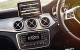 Mercedes-AMG CLA 45 centre console
