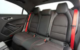 Mercedes-AMG CLA 45 rear seats