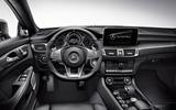 Mercedes-AMG CLS 63 S dashboard