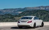 Mercedes-AMG CLS 63 S rear quarter