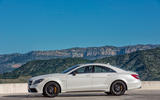 Mercedes-AMG CLS 63 S side profile