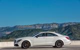 Mercedes-AMG CLS 63 S side profile