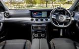 Mercedes-AMG E 63 dashboard