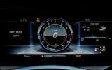 Mercedes-AMG E 63 digital instrument cluster