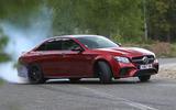 Mercedes-AMG E 63 drifting