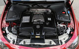 Mercedes-AMG E 63 V8 engine