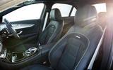 Mercedes-AMG E 63 front seats