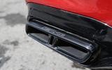 Mercedes-AMG E 63 quad exhaust