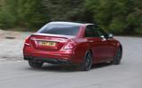 Mercedes-AMG E 63 rear