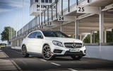 4 star Mercedes-AMG GLA 45