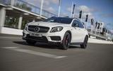 Mercedes-AMG GLA 45 front quarter