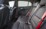 Mercedes-AMG GLA 45 rear seats