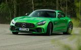 Mercedes-AMG GT R cornering