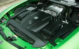 4.0-litre V8 Mercedes-AMG GT R petrol engine