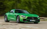 Mercedes-AMG GT R hard cornering