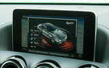 Mercedes-AMG GT R infotainment system