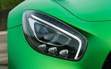 Mercedes-AMG GT R LED headlights