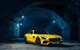 4 star Mercedes-AMG GT S
