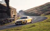 Mercedes-AMG GT S cornering