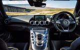 Mercedes-AMG GT S dashboard