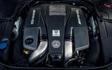 5.5-litre V8 Mercedes-AMG S 63 engine