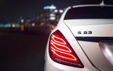 Mercedes-AMG S 63 rear lights