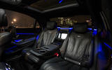Mercedes-AMG S 63 rear seats