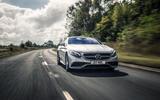 Mercedes-AMG S 63 Coupé cornering