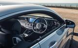 Mercedes-AMG S 63 Coupé interior