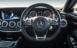 Mercedes-AMG S 63 Coupé steering wheel