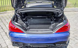 Mercedes-AMG SL 63 boot space
