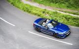Mercedes-AMG SL 63 cornering