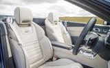 Mercedes-AMG SL 63 sports seats