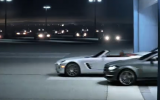 Merc shows SLS roadster, C-class coupé