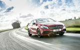 Mercedes-Benz A-Class cornering