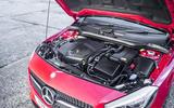 Mercedes-Benz A 200 d engine bay