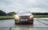 Mercedes-Benz A-Class front end