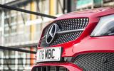 Mercedes-Benz A-Class front grille