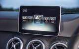 Mercedes-Benz A-Class infotainment system