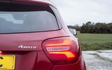 Mercedes-Benz A-Class rear lights