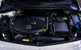 Mercedes-Benz B-Class engine bay