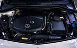 Mercedes-Benz B-Class engine bay