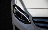 Mercedes-Benz B-Class headlights
