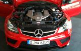 Merc C63 AMG Black Series leaked