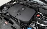 Mercedes-Benz C-Class Coupé four-pot diesel