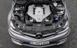 Mercedes-AMG C 63 6.2-litre V8 engine