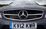 Mercedes-AMG C 63 Coupé front grille